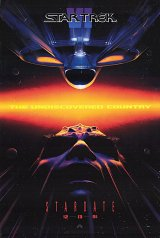 STAR TREK VI : THE UNDISCOVERED COUNTRY Poster 1