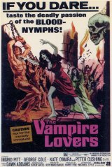 VAMPIRE LOVERS, THE Poster 1