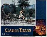CLASH OF THE TITANS Lobby card