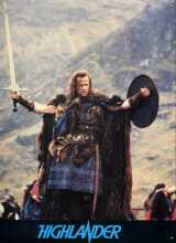 HIGHLANDER Lobby card