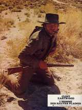 HIGH PLAINS DRIFTER Lobby card