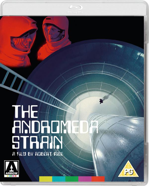 THE ANDROMEDA STRAIN Blu-ray Zone B (Angleterre)