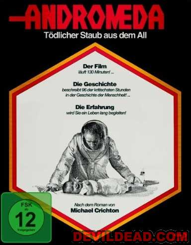 THE ANDROMEDA STRAIN Blu-ray Zone B (Allemagne)