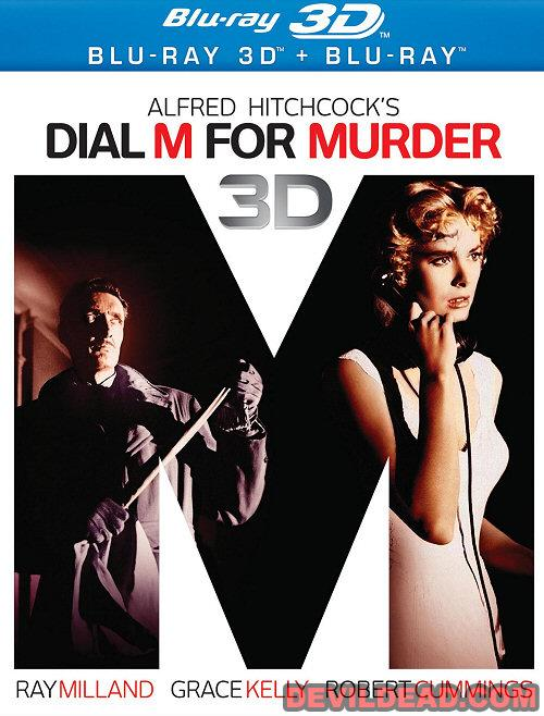 DIAL M FOR MURDER Blu-ray Zone A (USA)
