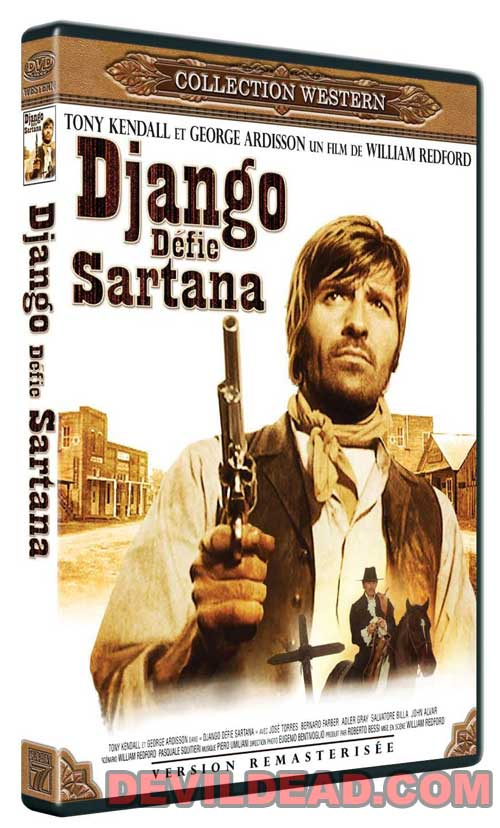 DJANGO SFIDA SARTANA DVD Zone 2 (France)