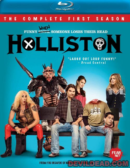 HOLLISTON (SERIE) Blu-ray Zone A (USA)