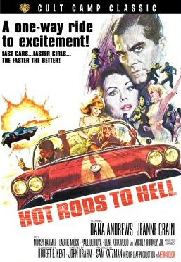 HOT RODS TO HELL DVD Zone 1 (USA)