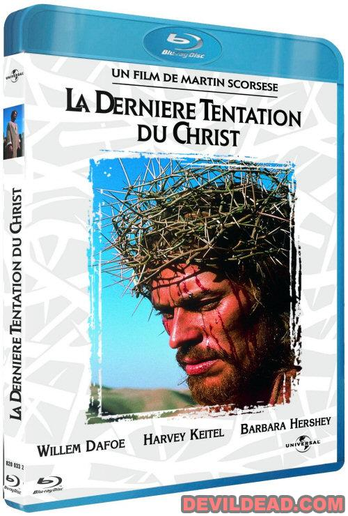 THE LAST TEMPTATION OF CHRIST Blu-ray Zone B (France)