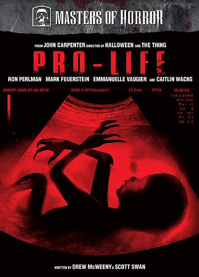 MASTERS OF HORROR : PRO-LIFE (Serie) DVD Zone 1 (USA)