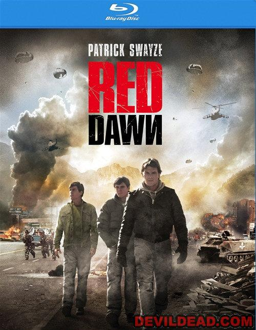 RED DAWN Blu-ray Zone A (USA)