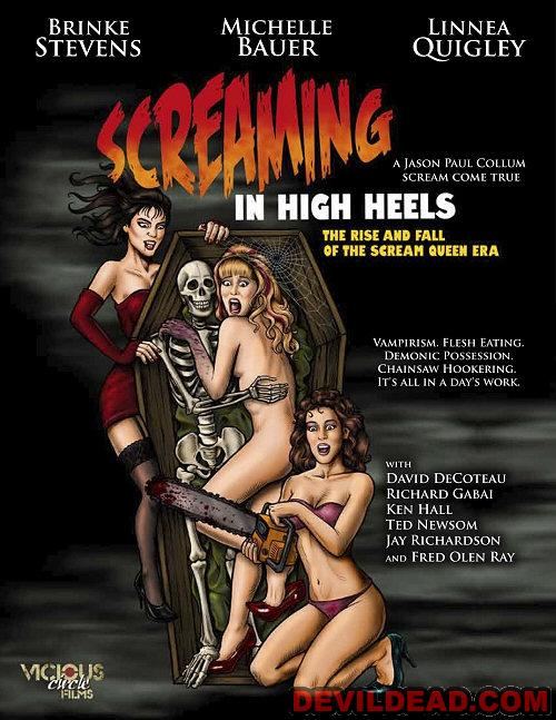 SCREAMING IN HIGH HEELS : THE RISE & FALL OF THE SCREAM<br> QUEEN ERA DVD Zone 1 (USA)