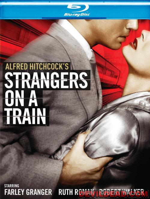 STRANGERS ON A TRAIN Blu-ray Zone A (USA)