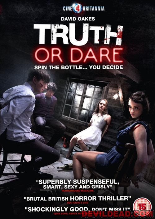 TRUTH OR DARE DVD Zone 2 (Angleterre)
