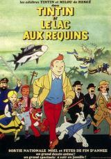TINTIN ET LE LAC AUX REQUINS - Poster