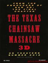 TEXAS CHAINSAW MASSACRE 3D - Poster