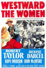 WESTWARD THE WOMEN - Poster