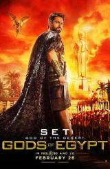 GODS OF EGYPT - Set Poster
