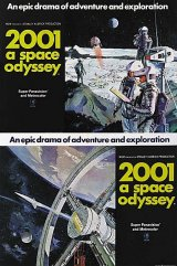 2001, A SPACE ODYSSEY Poster 1