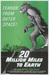 20 MILLION MILES TO EARTH - Poster