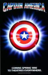 CAPTAIN AMERICA (1990) - Poster