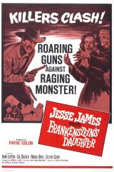 JESSE JAMES MEETS FRANKENSTEIN'S DAUGHTER - Poster
