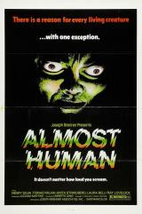 ALMOST HUMAN - Poster
