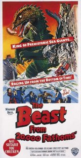 BEAST FROM 20000 FATHOMS, THE Poster 1