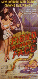 FIEND WITHOUT A FACE Poster 1