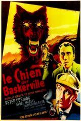 LE CHIEN DES BASKERVILLE (1959) - Poster