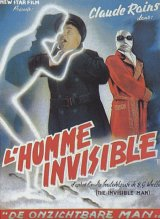 L'HOMME INVISIBLE - Poster
