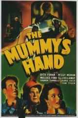 THE MUMMY'S HAND - Poster