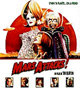 Affiche de MARS ATTACKS (1996)