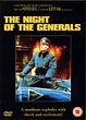 THE NIGHT OF THE GENERALS DVD Zone 2 (Angleterre)