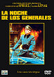 THE NIGHT OF THE GENERALS DVD Zone 2 (Espagne)