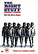 THE RIGHT STUFF DVD Zone 2 (Angleterre)